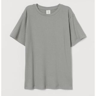ザラ(ZARA)のh&m❤️リブニット(Tシャツ(半袖/袖なし))