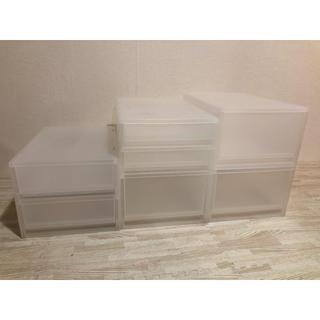 ムジルシリョウヒン(MUJI (無印良品))のポリプロピレン 収納ケース(ケース/ボックス)