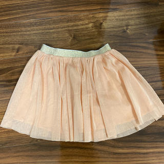 ユニクロ(UNIQLO)のユニクロ  チュールスカート  KIDS サイズS(スカート)