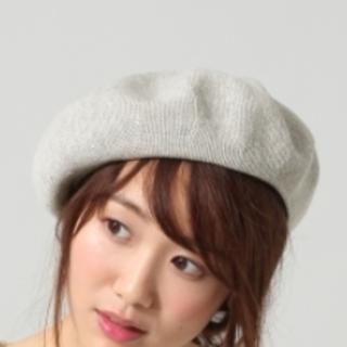 【美品】BLISS POINT サーモベレー帽子(ハンチング/ベレー帽)