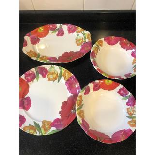 フランフラン(Francfranc)のフランフラン 食器セット 割れないメラミン サラダボウル 大皿(食器)