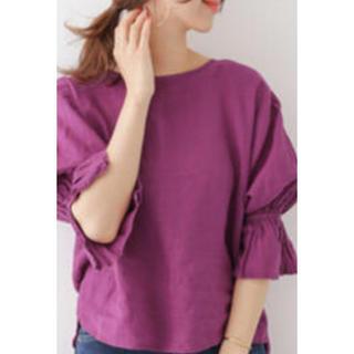 アーバンリサーチ(URBAN RESEARCH)のアーバンリサーチ♪リネンシャツ♪(シャツ/ブラウス(半袖/袖なし))