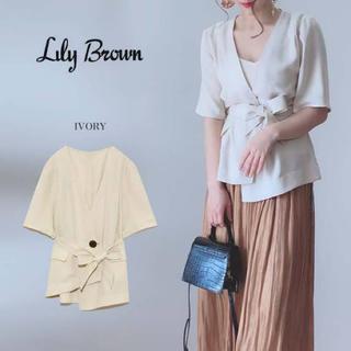 Lily Brown - ハーフスリーブルーズジャケット
