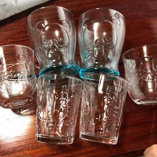 サンリオ(サンリオ)のガラスコップ 6個セット(グラス/カップ)