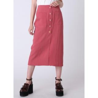 dazzlin - dazzlin レトロボタンタイトスカート ピンク
