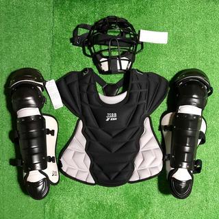 エスエスケイ(SSK)の★新品未使用★ 少年軟式野球 キャッチャー プロテクター 防具 黒 JSBB(防具)