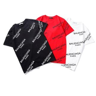 Balenciaga - 2枚 6950円  BALENCIAGA   Tシャツ  ★男女兼用★01