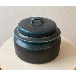 アラビア(ARABIA)のルスカ ブルー 蓋付きキャセロール チュリーン ポット アラビア Ruska(食器)