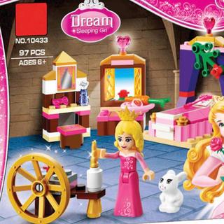 美女と野獣 ベルの寝室 レゴ互換LEGO互換