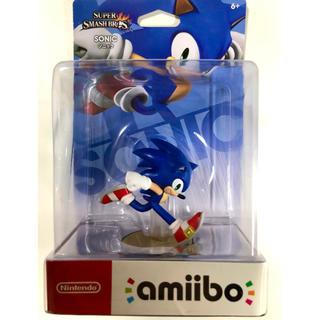 ニンテンドースイッチ(Nintendo Switch)の【新品】amiibo ソニック(大乱闘スマッシュブラザーズシリーズ)(ゲームキャラクター)