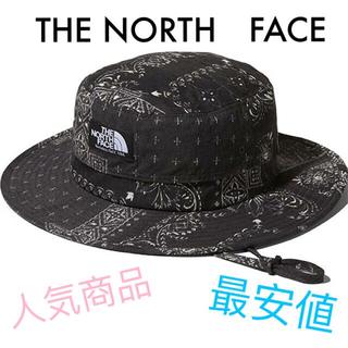 THE NORTH FACE - ノベルティホライズンハット バンダナリニューアルブラック NN01708