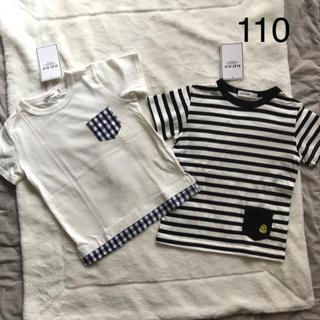 BeBe - Tシャツ トップス 男の子 110 Slap Slip 未使用 新品