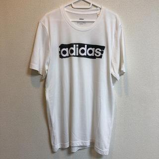 adidas - アディダス adidas ロゴ Tシャツ XL