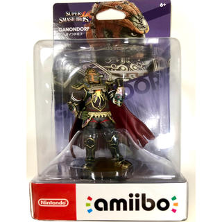 ニンテンドースイッチ(Nintendo Switch)の【新品】amiibo ガノンドロフ(大乱闘スマッシュブラザーズシリーズ)(ゲームキャラクター)