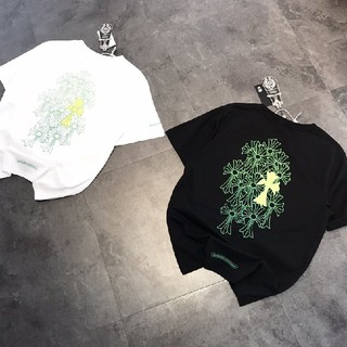 クロムハーツ(Chrome Hearts)の❤大人気❤クロムハーシ Chrome Hearts Tシャツ 半袖 春夏#34(Tシャツ/カットソー(半袖/袖なし))