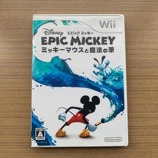 Wii - Wii「エピックミッキー ミッキーマウスと魔法の筆」