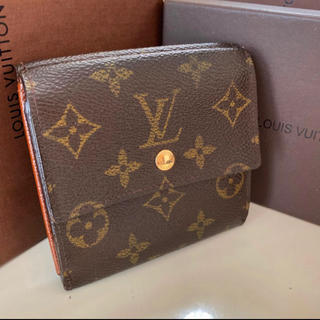 LOUIS VUITTON - 正規品ルイヴィトンWホック 折財布