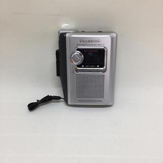 パナソニック(Panasonic)のパナソニック テープレコーダー RQ-L11-S(ポータブルプレーヤー)