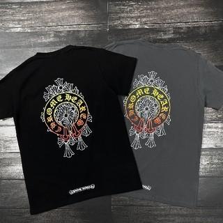 クロムハーツ(Chrome Hearts)の❤大人気❤クロムハーシ Chrome Hearts Tシャツ 半袖 春夏#38(Tシャツ/カットソー(半袖/袖なし))