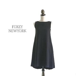 FOXEY - FOXEY NEWYORK フォクシー ワンピース ブラック