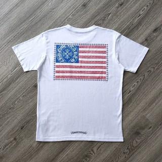 クロムハーツ(Chrome Hearts)の❤大人気❤クロムハーシ Chrome Hearts Tシャツ 半袖 春夏#41(Tシャツ/カットソー(半袖/袖なし))