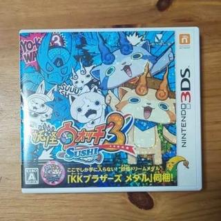 ケースのみ!!  妖怪ウォッチ3 スシ 3DS(携帯用ゲームソフト)