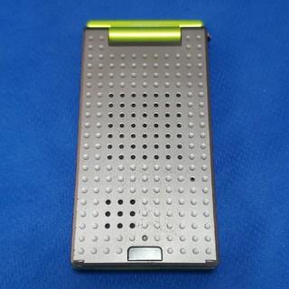 エヌイーシー(NEC)のFOMA N703iμ(ミュー)  グリーン(携帯電話本体)
