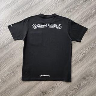 クロムハーツ(Chrome Hearts)の❤大人気❤クロムハーシ Chrome Hearts Tシャツ 半袖 春夏#44(Tシャツ/カットソー(半袖/袖なし))