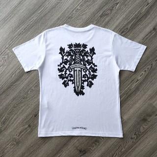 クロムハーツ(Chrome Hearts)の❤大人気❤クロムハーシ Chrome Hearts Tシャツ 半袖 春夏#46(Tシャツ/カットソー(半袖/袖なし))