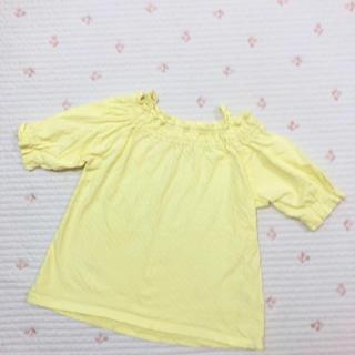 エフオーキッズ(F.O.KIDS)のアプレレクール オフショルチュニック(Tシャツ/カットソー)