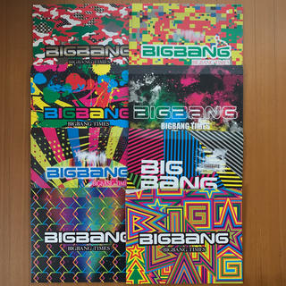 ビッグバン(BIGBANG)のBIGBANG TIMES 9冊(K-POP/アジア)