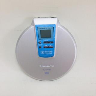 パナソニック(Panasonic)のPanasonic ポータブルCDプレーヤー SL-CT780(ポータブルプレーヤー)