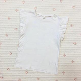 エフオーキッズ(F.O.KIDS)のアプレレクール フリルタンクトップ(Tシャツ/カットソー)
