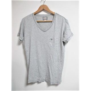 ディーゼル(DIESEL)の☆DIESEL ディーゼル ワンポイント Vネック Tシャツ 半袖/メンズ/S(Tシャツ/カットソー(半袖/袖なし))