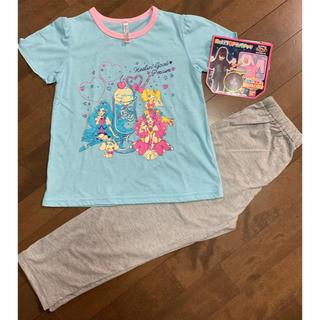 バンダイ(BANDAI)の新品 ヒーリングっどプリキュア 光るパジャマ 120 半袖 女の子(パジャマ)