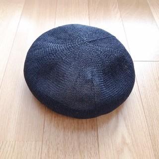 ikka 夏素材ベレー帽