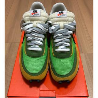 サカイ(sacai)のsacai×nike LDWAFFLE Green (スニーカー)