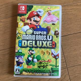 Nintendo Switch - New スーパーマリオブラザーズ U デラックス Switch!最安値!