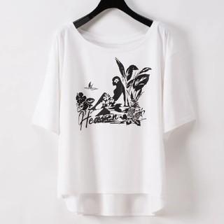 グレースコンチネンタル(GRACE CONTINENTAL)の専用☆プリントレーヨンTシャツ(Tシャツ(半袖/袖なし))