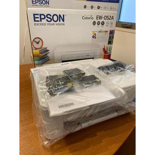 エプソン(EPSON)のエプソン プリンター インクジェット複合機 カラリオ EW-052A 2019年(OA機器)