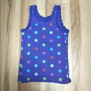ギャップキッズ(GAP Kids)の110cm GapKids タンクトップ 紫色(Tシャツ/カットソー)