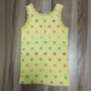 ギャップキッズ(GAP Kids)の110cm GapKids タンクトップ 黄色(Tシャツ/カットソー)