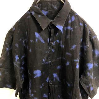 LAD MUSICIAN - ラッドミュージシャン 羽柄 フェザー柄 半袖シャツ 美品