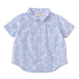 sense of wonder - センスオブワンダー 透かしドットシャツ 120