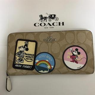 COACH - コーチ ディズニー ミニー 長財布