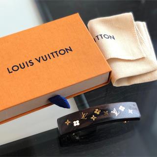 ルイヴィトン(LOUIS VUITTON)のルイヴィトン 中古品  バレッタ 木製(バレッタ/ヘアクリップ)