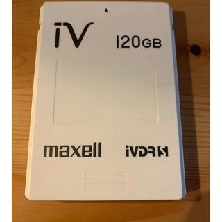 マクセル(maxell)のマクセル カセット ハードディスク 120GB(テレビ)