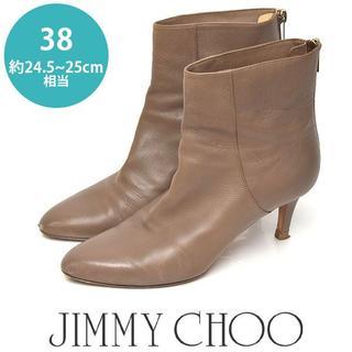 ジミーチュウ(JIMMY CHOO)のジミーチュー/ジミーチュウ  ショートブーツ 38(約24.5-25cm)(ブーツ)