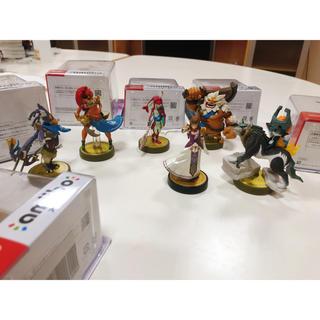 ニンテンドースイッチ(Nintendo Switch)のゼルダの伝説 アミーボ 6点セット 箱付き(ゲームキャラクター)