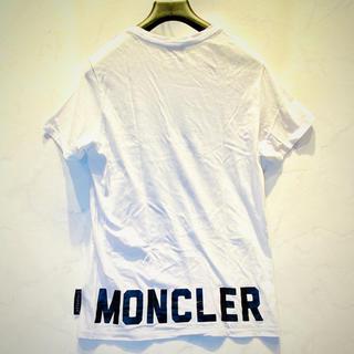 モンクレール(MONCLER)の【⭐️極美品⭐️】 モンクレール バックロゴTシャツ レディースL(Tシャツ(半袖/袖なし))